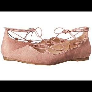 Chinese Laundry Rose Suede Flats 9